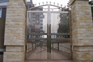 Cổng cửa inox